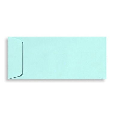 LUX Peel & Press - #10 Open End Envelopes (4 1/8 x 9 1/2) - 1000/Box - Seafoam (LUX-77161131000)