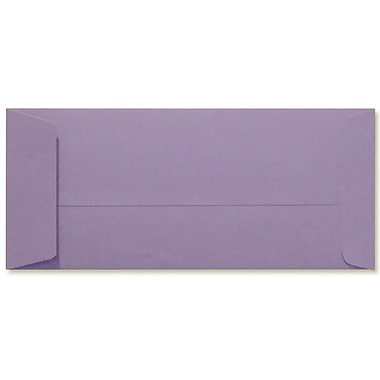 LUX Peel & Press - #10 Open End Envelopes (4 1/8 x 9 1/2) - 500/Box - Wisteria (LUX-7716-106500)