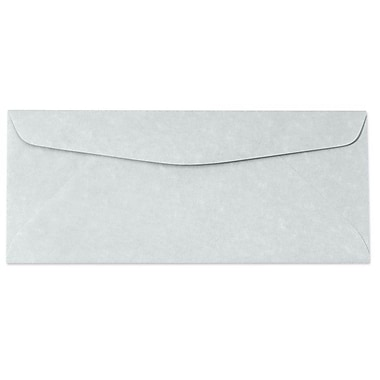 LUX Moistenable Glue - #10 Regular Envelopes (4 1/8 x 9 1/2) - 500/Box - Blue Parchment (6660-12-500)