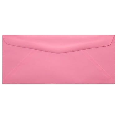 LUX® 60lbs. 4 1/8in. x 9 1/2in. #10 Bright Regular Envelopes, Electric Pink, 250/BX