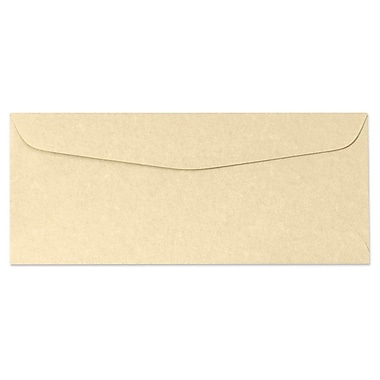 LUX Moistenable Glue - #10 Regular Envelopes (4 1/8 x 9 1/2) - 50/Pack - Gold Parchment (6660-14-50)