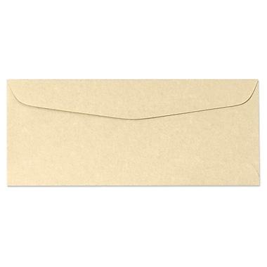 LUX Moistenable Glue - #10 Regular Envelopes (4 1/8 x 9 1/2) - 500/Box - Gold Parchment (6660-14-500)