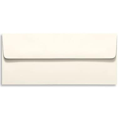 LUX® 4 1/8in. x 9 1/2in. #10 70lbs. Square Flap Envelopes, Natural, 50/Pack