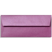 "LUX® 80lbs. 4 1/8"" x 9 1/2"" #10 Square Flap Envelopes W/Glue, Punch Metallic Purple, 250/BX"