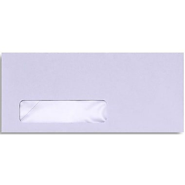 LUX Moistenable Glue - #10 Window Envelopes (4 1/8 x 9 1/2) - 250/Box - Orchid (28815-250)