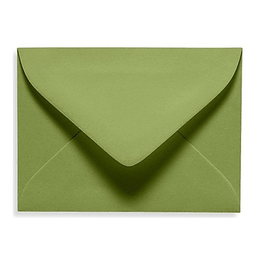 LUX #17 Mini Envelope (2 11/16 x 3 11/16) 1000/Box, Avocado (EXLEVC-27-1000)