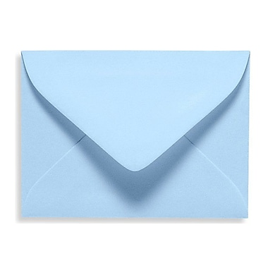 LUX #17 Mini Envelope (2 11/16 x 3 11/16) 500/Box, Baby Blue (EXLEVC-13-500)