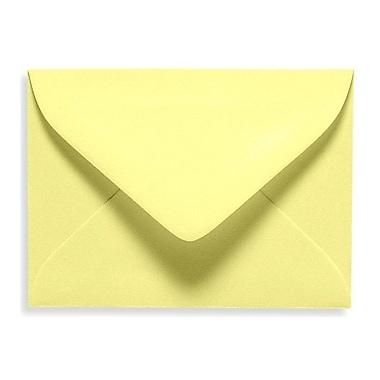 LUX #17 Mini Envelope (2 11/16 x 3 11/16) 50/Box, Lemonade (EXLEVC-15-50)