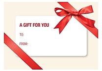 LUX® 70lbs. 2 11/16' x 3 11/16' White Mini Envelopes W/Glue Closure, Red Bow, 250/BX