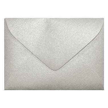 LUX #17 Mini Envelopes (2 11/16 x 3 11/16) 250/Box, Silver Metallic (MINSDS-250)