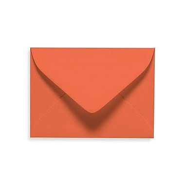 LUX #17 Mini Envelopes (2 11/16 x 3 11/16) 100/Box, Tangerine (LUXLEVC-112-100)