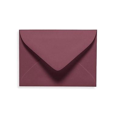 LUX #17 Mini Envelopes (2 11/16 x 3 11/16) 50/Box, Vintage Plum (LUXLEVC-104-50)
