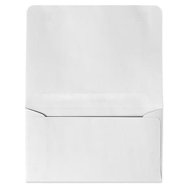 LUX® 4 1/4in. x 6 1/2in. #6 24lbs. 2-Way Envelopes, Bright White, 50/Pack