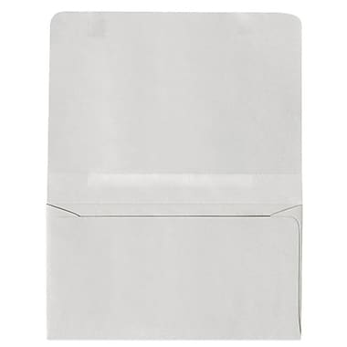 LUX Moistenable Glue - #6 2-Way Envelopes (4 1/4 x 6 1/2 Closed) - 500/Pack - Pastel Gray (R3875-500)