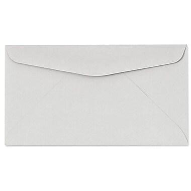 LUX Moistenable Glue #6 3/4 Regular Envelopes (3 5/8 x 6 1/2) 50/Pack, Pastel Gray (63224-50)
