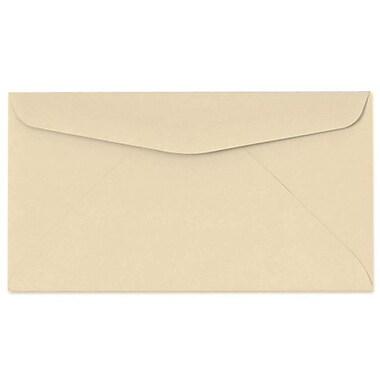 LUX Moistenable Glue #6 3/4 Regular Envelopes (3 5/8 x 6 1/2) 50/Pack, Tan (72694-50)
