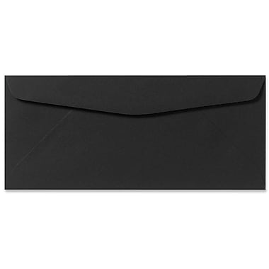 LUX Moistenable Glue #9 Regular Envelopes (3 7/8 x 8 7/8) 50/Pack, Midnight Black (F-4550-B-50)