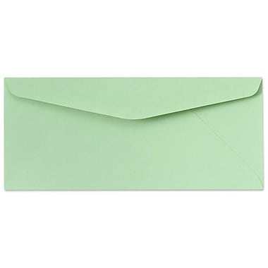 LUX Moistenable Glue - #9 Regular Envelopes (3 7/8 x 8 7/8) - 1000/Box - Pastel Green (73015-1000)