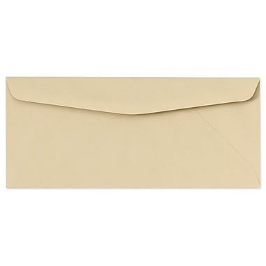 LUX Moistenable Glue #9 Regular Envelopes (3 7/8 x 8 7/8) 500/Box, Tan (73098-500)