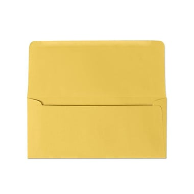 LUX #9 Remittance Envelopes (3 7/8 x 8 7/8 Closed) 500/box, Goldenrod (R2173-500)