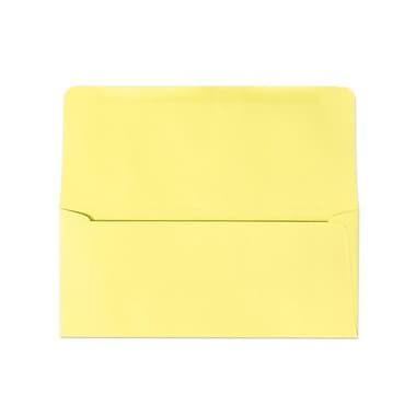 LUX Moistenable Glue #9 Remittance Envelopes (3 7/8 x 8 7/8 Closed) 500/Pack, Pastel Canary (R2172-500)