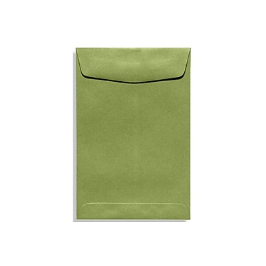 LUX 10 x 13 Open End Envelopes 50/Box, Avocado (EX4897-27-50)