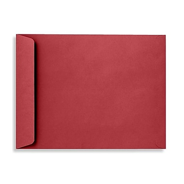 LUX 10 x 13 Open End Envelopes 500/Box, Ruby Red (EX4897-18-500)