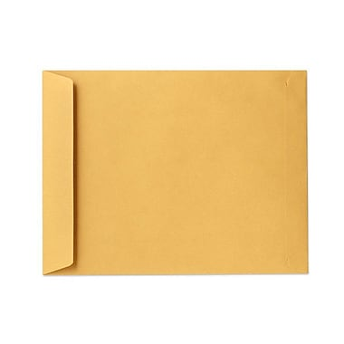 LUX® 28lbs. 13in. x 17in. Open End Flap Jumbo Envelopes, Brown Kraft, 500/BX