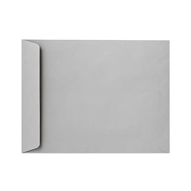 LUX® 28lbs. 10in. x 15in. Open End Envelopes, Gray Kraft, 500/BX