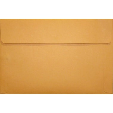 LUX® 12in. x 18in. Self-Adhesive Closure Document Envelopes, Brown Kraft, 250/Pack
