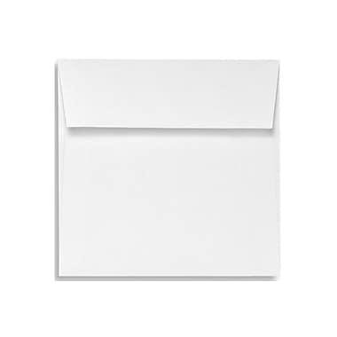 LUX 4 x 4 Square Envelopes 50/Box) 50/Box, 70lb. Bright White (8504-AO-50)