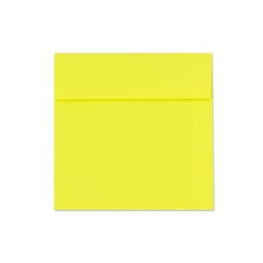 LUX 5 1/2 x 5 1/2 Square Envelopes 500/Box, Citrus (8515-20-500)