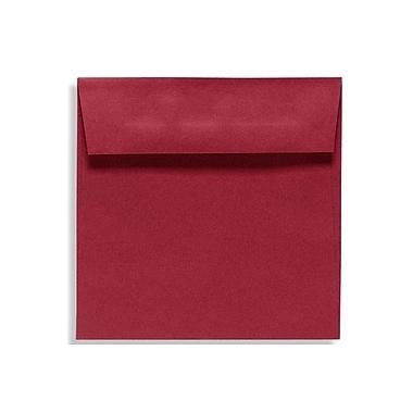 LUX 5 1/2 x 5 1/2 Square Envelopes 50/Box, Garnet (EX8515-26-50)
