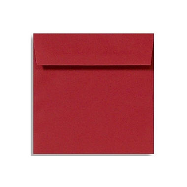 LUX 5 1/2 x 5 1/2 Square Envelopes 1000/Box) 1000/Box, Holiday Red (8515-15-1000)