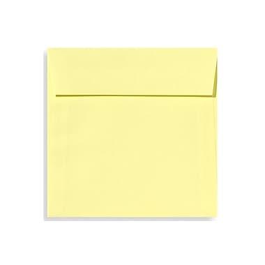 LUX 5 1/2 x 5 1/2 Square Envelopes 500/Box, Lemonade (EX8515-15-500)