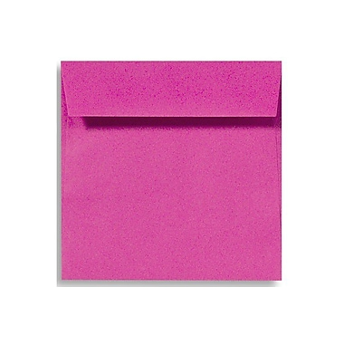 LUX 5 1/2 x 5 1/2 Square Envelopes 50/Box) 50/Box, Magenta (EX8515-10-50)