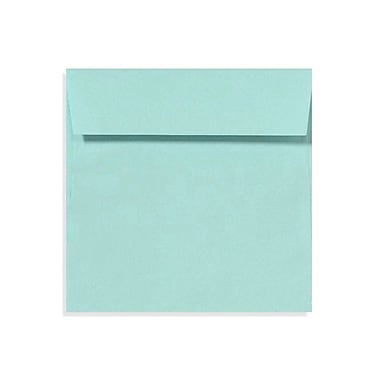 LUX 6 1/2 x 6 1/2 Square Envelopes 500/Box, Seafoam (LUX-8535-113500)
