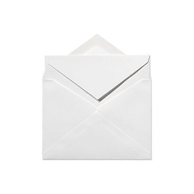LUX 5 1/4 x 7 1/2 Inner Envelopes (No Glue) 50/Box, 70lb. Bright White (SIVV917-50)