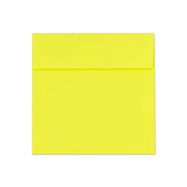 LUX 5 x 5 Square Envelopes 500/Box) 500/Box, Citrus (8505-20-500)