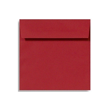 LUX 5 x 5 Square Envelopes 1000/Box) 1000/Box, Holiday Red (8505-15-1000)