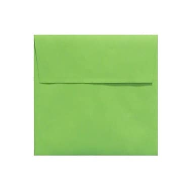 LUX 5 x 5 Square Envelopes 500/Box) 500/Box, Limelight (LUX-8505-101500)