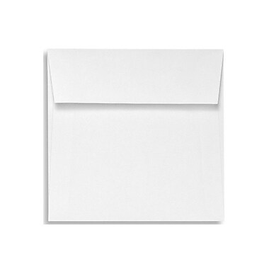 LUX 5 x 5 Square Envelopes 50/Box, Natural White - 100% Cotton (8505-SN-50)