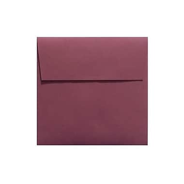 LUX 5 x 5 Square Envelopes 250/Box, Vintage Plum (LUX-8505-104-10)