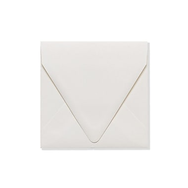 LUX 5 x 5 Square Contour Flap Envelopes 1000/Box) 1000/Box, Natural - 100% Recycled (1840-NPC-1000)