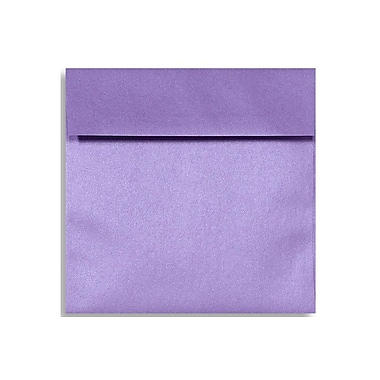 LUX 6 1/2 x 6 1/2 Square Envelopes 250/Box) 250/Box, Amethyst Metallic (8535-17-250)