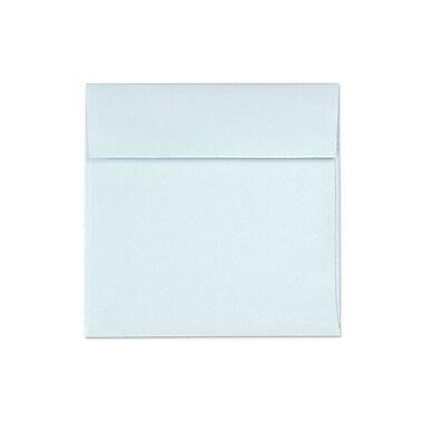 LUX 6 1/2 x 6 1/2 Square Envelopes 50/Box, Aquamarine Metallic (8535-02-50)