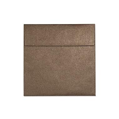 LUX 6 1/2 x 6 1/2 Square Envelopes 50/Box, Bronze Metallic (S8535-12-50)