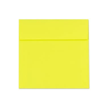 LUX 6 1/2 x 6 1/2 Square Envelopes 50/Box, Citrus (FE8535-20-50)