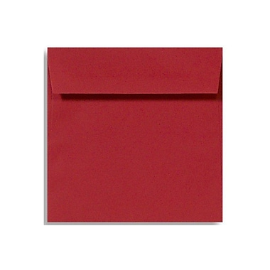 LUX 6 1/2 x 6 1/2 Square Envelopes 250/Box, Holiday Red (8535-15-250)