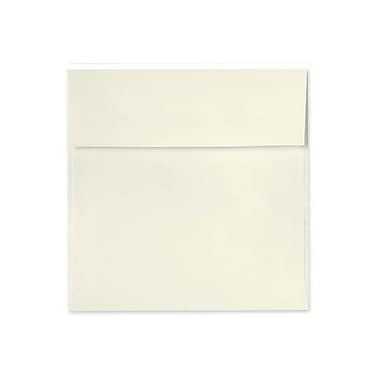 LUX 6 1/2 x 6 1/2 Square Envelopes 50/Box) 50/Box, Natural Linen (8535-NLI-50)